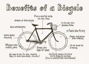 Photo - The benefits of a bicycle